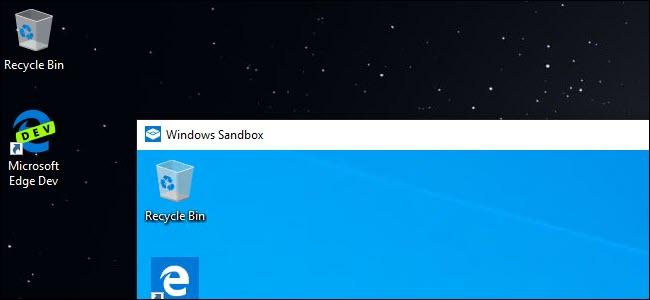 Cómo configurar el entorno de pruebas de Windows o Windows Sandbox