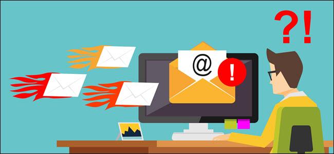 Cómo el bombardeo de correo electrónico utiliza el spam para ocultar un ataque